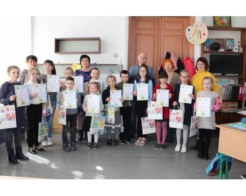 Нагородження учасників дитячого конкурсу інформаційної листівки «handmade» (ручної роботи) «Енергетика в сучасному світі»