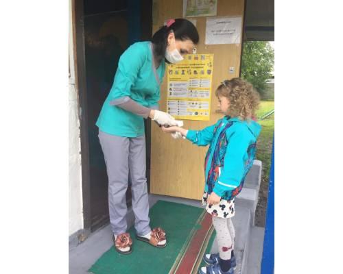 Перший день роботи дитячих садків